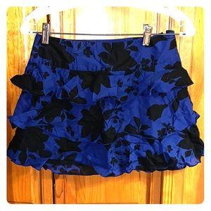 Express ruffled layer skirt